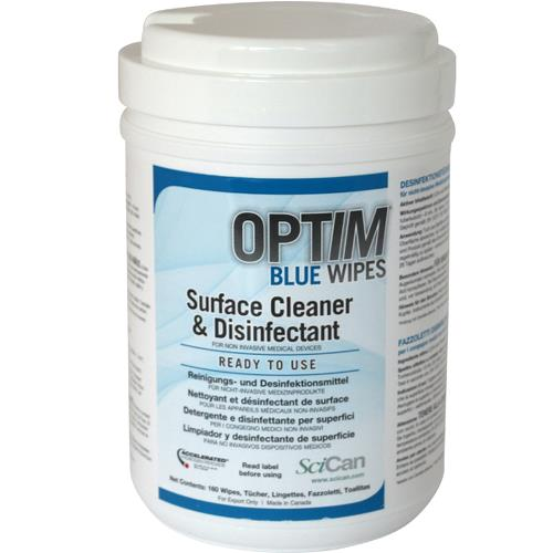 Optim blue wipe boks 160 stk