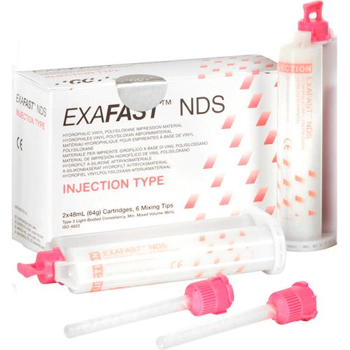 EXAFAST NDS INJECTION 2X48ML/6 BLANDESPISSER