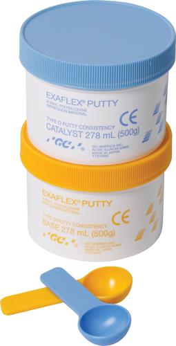 EXAFLEX PUTTY BLÅ/GUL 556ML